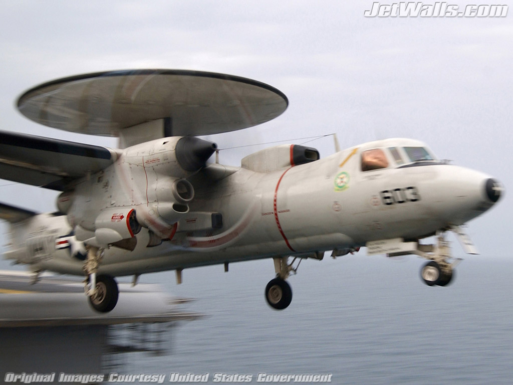 """E-2C Hawkeye"" - Wallpaper No. 91 of 101. Right click for saving options."