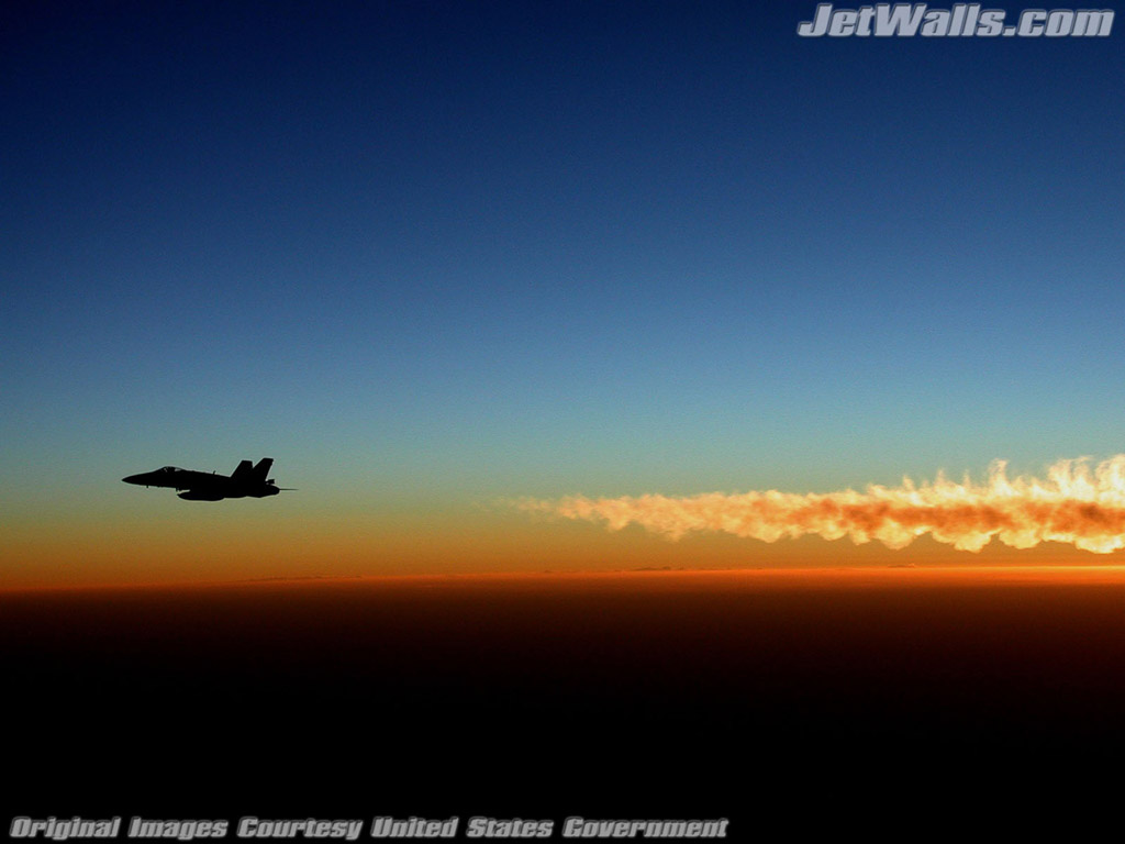 """F/A-18 Hornet"" - Wallpaper No. 86 of 101. Right click for saving options."