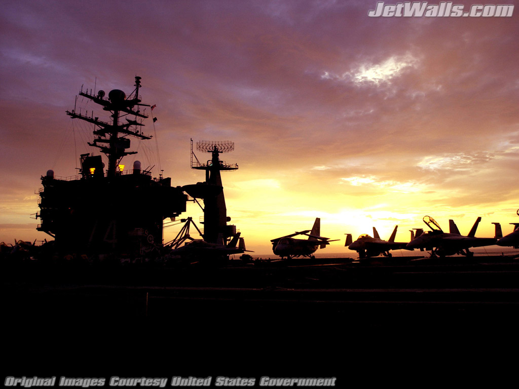 """Aircraft Carrier USS John C. Stennis"" - Wallpaper No. 22 of 101. Right click for saving options."