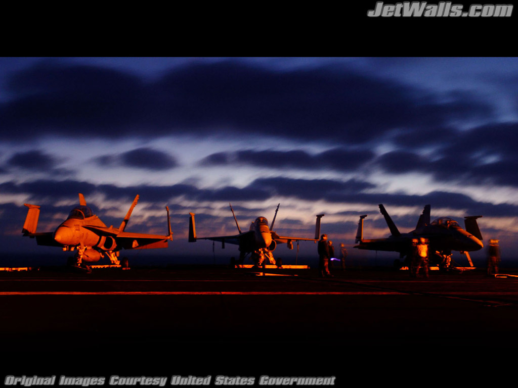 """F/A-18 Hornets"" - Wallpaper No. 35 of 101. Right click for saving options."