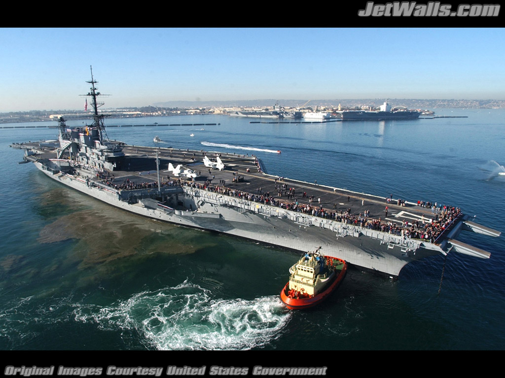 """Aircraft Carrier Midway"" - Wallpaper No. 14 of 101. Right click for saving options."