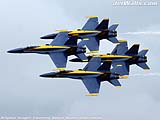 """Blue Angels"" - Wallpaper No.85.  Click for 640x480 or select another size."