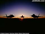 """F/A-22 Raptors"" - Wallpaper No.1.  Click for 640x480 or select another size."
