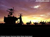 """Aircraft Carrier USS John C. Stennis"" - Wallpaper No.22.  Click for 640x480 or select another size."