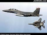 """F-15E Strike Eagles"" - Wallpaper No.30.  Click for 640x480 or select another size."