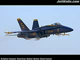 """Blue Angels F/A-18"" - Wallpaper No.46.  Click for 640x480 or select another size."