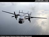 """C-2A Greyhound"" - Wallpaper No.18.  Click for 640x480 or select another size."
