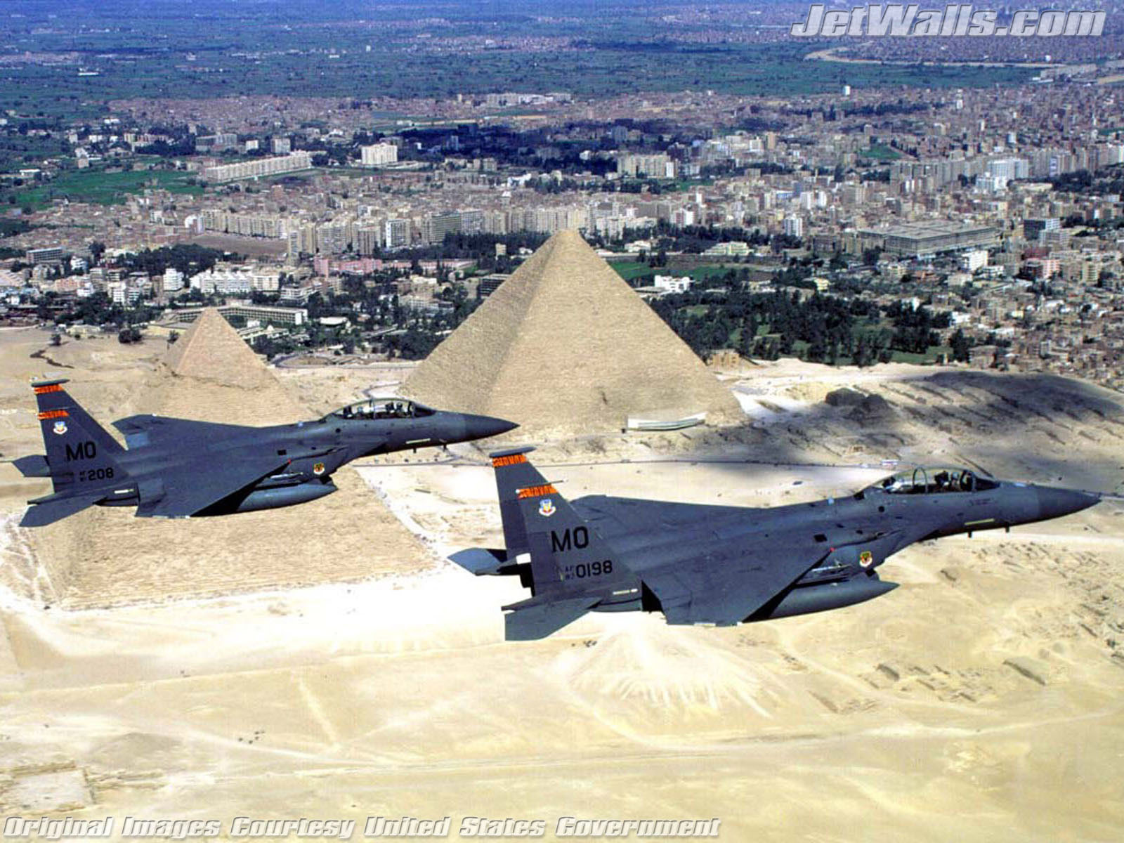 """F-15E Strike Eagles Over Egypt"" - Wallpaper No. 8 of 101. Right click for saving options."