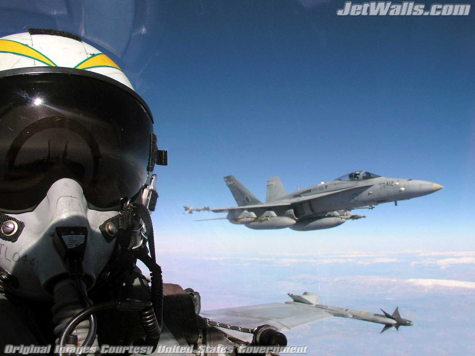 """F/A-18 Hornets"" - Wallpaper No. 26 of 101. Right click for saving options."