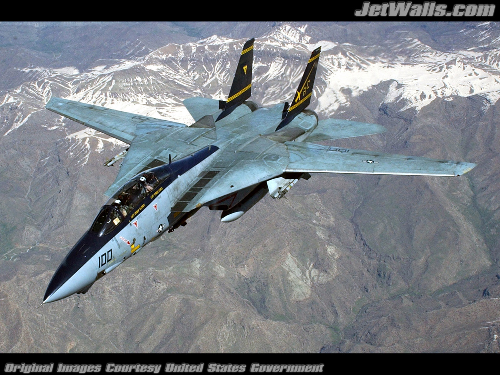 """F-14 Tomcat"" - Wallpaper No. 60 of 101. Right click for saving options."