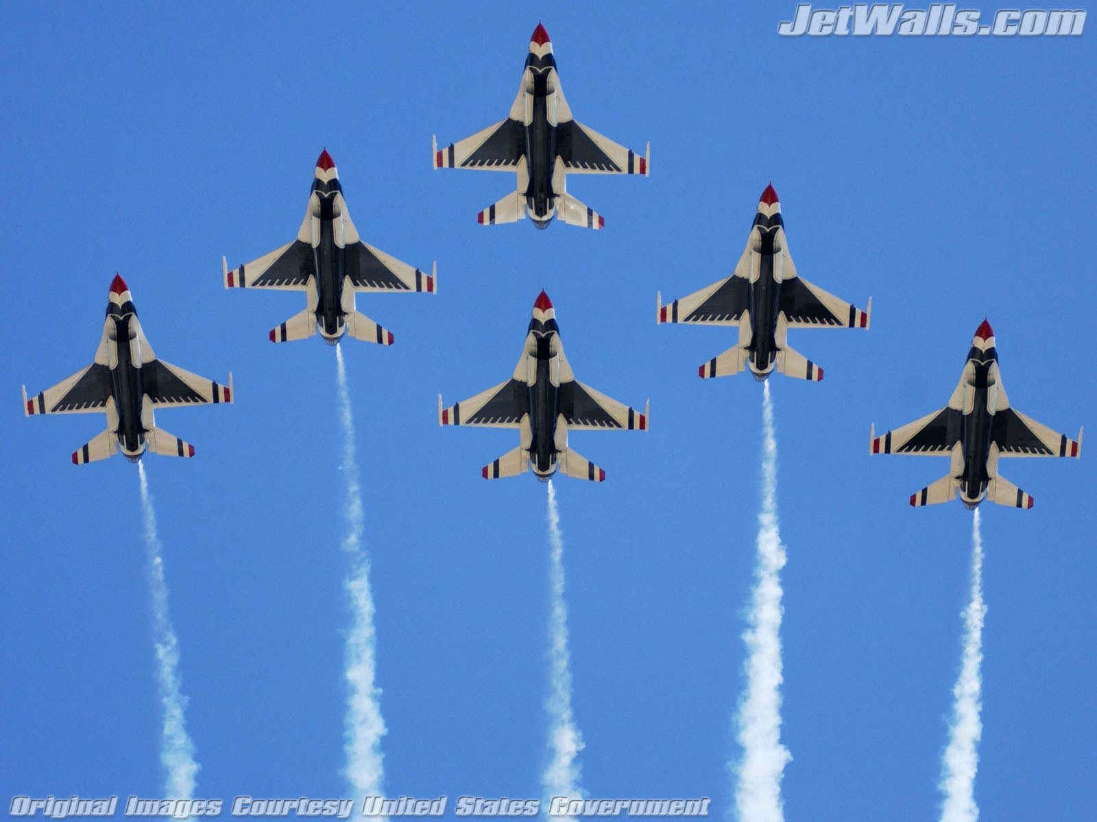 """U.S. Air Force Thunderbirds"" - Wallpaper No. 66 of 101. Right click for saving options."