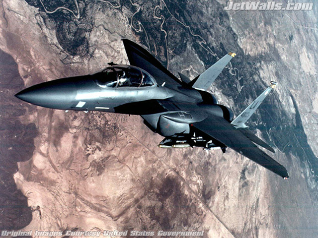 """F-15 Eagle"" - Wallpaper No. 7 of 101. Right click for saving options."