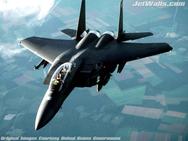 """F-15 Eagle"" - Wallpaper No. 6 of 101. Right click for saving options."