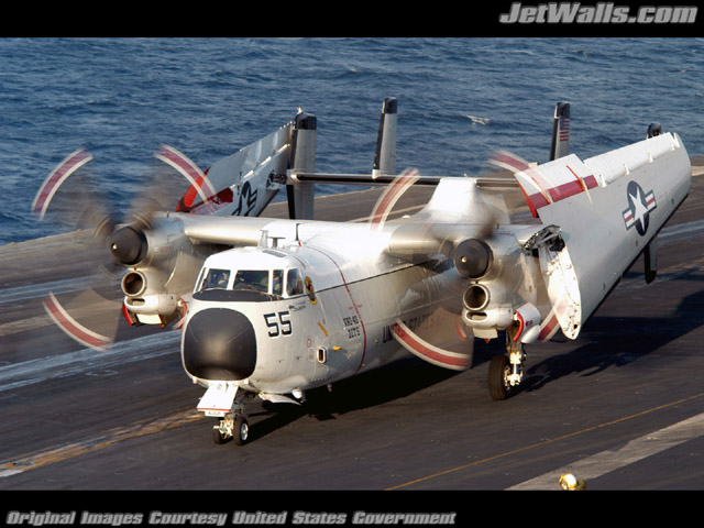 """C-2A Greyhound"" - Wallpaper No. 51 of 101. Right click for saving options."