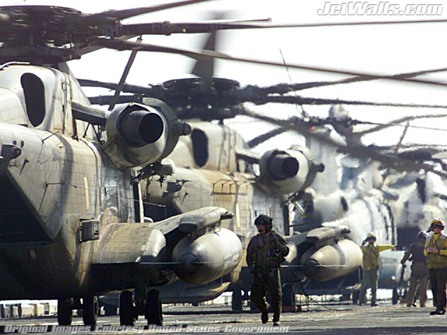 """CH-53E Super Stallions"" - Wallpaper No. 58 of 101. Right click for saving options."