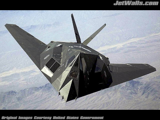 """F-117 Nighthawk"" - Wallpaper No. 50 of 101. Right click for saving options."