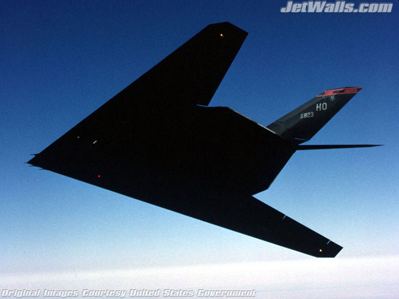 """F-117A Nighthawk Stealth fighter"" - Wallpaper No. 9 of 101. Right click for saving options."