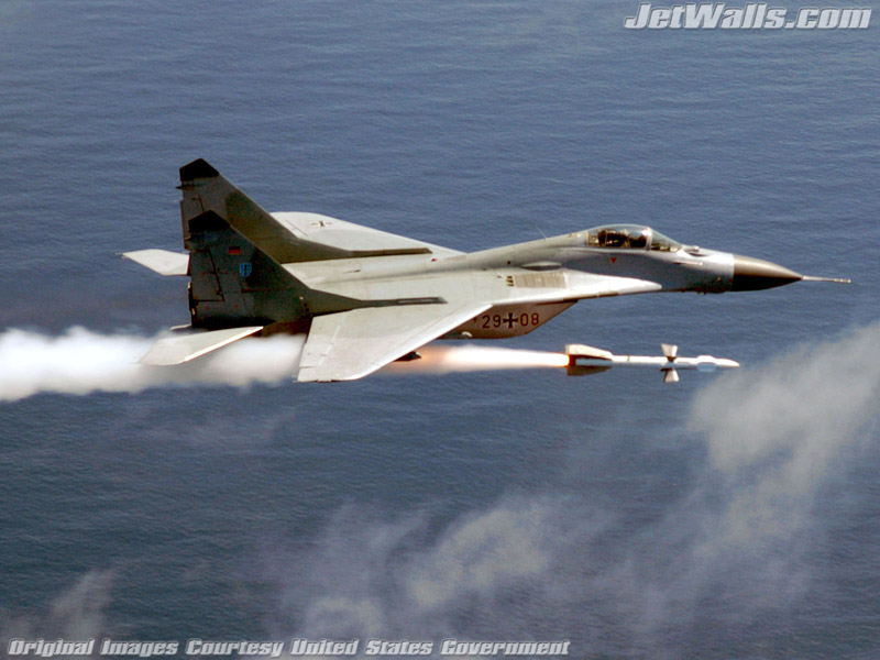 """MiG-29 Fulcrum"" - Wallpaper No. 69 of 101. Right click for saving options."